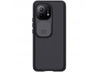 Husa Plastic - TPU Nillkin CamShield Pro pentru Xiaomi Mi 11, Cu protectie camera, Neagra