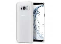 Husa Piele Spigen Air Skin pentru Samsung Galaxy S8 G950, Transparenta 565CS21627