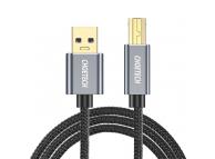 Cablu Imprimanta Choetech, USB-A la USB-B, 3m, Negru AB0011-BK