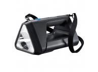 Lanterna LED Varta Work Flex BL30R, 550lm, 3 moduri iluminare, IPX4, Baterie Reincarcabila, Neagra