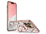 Husa Plastic - TPU Supcase IBLSN COSMO SNAP Marble pentru Apple iPhone 13 Pro, Roz
