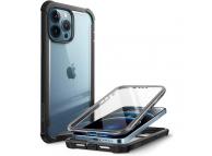 Husa Plastic - TPU Supcase Iblsn Ares pentru Apple iPhone 13 Pro, Full Cover, Neagra