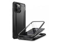 Husa Plastic - TPU Supcase Clayco Xenon pentru Apple iPhone 13 Pro Max, Full Cover, Neagra