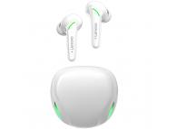 Handsfree Casti Bluetooth Lenovo XT92, SinglePoint, TWS, Gaming, Alb