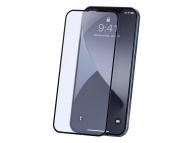 Folie Protectie Ecran Baseus pentru Apple iPhone 12 Pro Max, Sticla securizata, Full Face, 0.23mm, Set 2buc, Neagra SGAPIPH67N- TE01