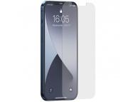 Folie Protectie Ecran Baseus pentru Apple iPhone 12 / Apple iPhone 12 Pro, Sticla securizata, Full Face, Full Glue, 0.15mm, Set 2buc SGAPIPH61P- FM02