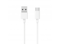 Cablu Date si Incarcare USB la USB Type-C Xiaomi, 1 m, 18W, Alb BHR4422GL
