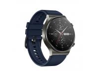 Curea Ceas OEM pentru Huawei Watch GT / Huawei Watch GT 2 Pro, Bleumarin