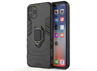 Husa TPU OEM Defender Armor pentru Apple iPhone 13 Pro Max, Neagra