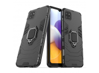Husa TPU OEM Defender Armor pentru Samsung Galaxy A22 5G, Neagra