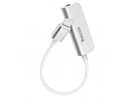 Adaptor Audio Lightning la 3.5 mm Baseus L50, Gri CALL50-02