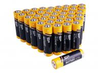 Baterie Silicon Power Alkaline Ultra, AAA/LR03, Set 40 Bucati, SPAL03ABAT40PV1K