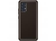 Husa Telefon Samsung Galaxy A32, Clear Cover, EF-QA325TBE, Neagra, Resigilat