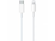 Cablu USB Type-C la Lightning Apple, 1m, Alb, Resigilat MX0K2ZM/A