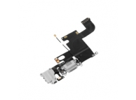 Banda cu conector incarcare / date audio si microfon Apple iPhone 6 argintiu
