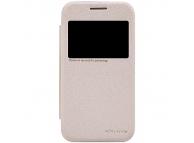Husa Samsung Galaxy Core Prime G360 Nillkin Sparkle View aurie Blister Originala