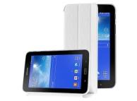 Husa piele Samsung Galaxy Tab 3 Lite 7.0 SM-T110 Pilotdarss alba