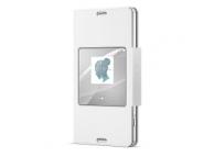 Husa piele Sony Xperia Z3 Compact SCR26 alba Blister Originala