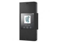 Husa piele Sony Xperia Z3 Compact SCR26 Blister Originala