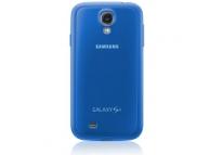 Husa plastic Samsung I9500 Galaxy S4 EF-PI950BC albastra Blister Originala