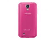 Husa plastic Samsung I9500 Galaxy S4 EF-PI950BP roz Blister Originala