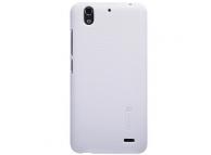 Husa plastic Huawei Ascend G630 Nillkin alba Blister Originala