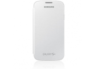 Husa piele Samsung I9500 Galaxy S4 EF-FI950BW alba Blister Originala