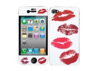 Kit personalizare telefon Apple iPhone 4S Red Lips