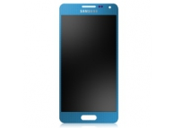 Display cu touchscreen Samsung Galaxy Alpha G850 albastru