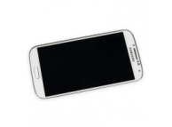 Display cu touchscreen si rama Samsung I9505 Galaxy S4 alb