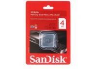 Card memorie SanDisk Micro M2 4Gb fara adaptor Blister