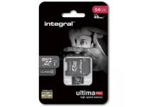 Card memorie Integral UltimaPRO MicroSDXC 64GB Clasa 10 Blister