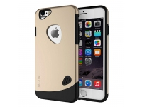 Husa plastic Apple iPhone 6 SLiCOO Cobblestone aurie Blister