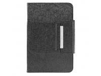 Husa piele Silkcu tastatura Bluetooth pentru tableta 7 inci, dimensiuni interioare 195 x 120 mm, neagra