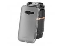 Husa silicon TPU Samsung Galaxy Trend 2 Lite G318 Kisswill gri Blister Originala