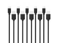 Set cablu de date MicroUSB Haweel (5 bucati) Blister Original