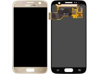 Display - Touchscreen Samsung Galaxy S7 G930, Auriu GH97-18523C