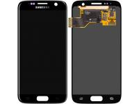Display - Touchscreen Samsung Galaxy S7 G930, Negru GH97-18523A