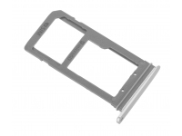 Suport sim si card MicroSD Samsung Galaxy S7 edge G935 argintiu