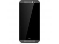Display cu touchscreen si rama HTC One M9 gri