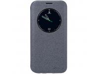 Husa Samsung Galaxy S7 edge G935 Nillkin Sparkle View Gri Blister Originala