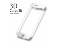 Folie Protectie ecran antisoc Apple iPhone 6 Tempered Glass Full Face 3D alba Blueline Blister