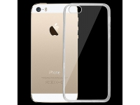 Husa silicon TPU Apple iPhone 5 Ultra Slim transparenta
