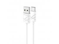 Cablu date USB - USB Type-C Usams U-Gee alb Blister Original
