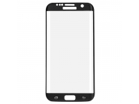 Folie Protectie ecran antisoc Samsung Galaxy S7 edge G935 Tempered Glass Full Face Neagra