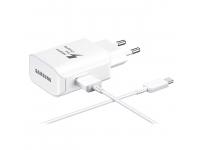 Incarcator retea USB Type-C Samsung EP-TA300CWEGWW Fast Charging alb Blister Original
