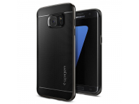 Husa Samsung Galaxy S7 Edge G935 Spigen 556CS20143 Neo Hybrid Gri Blister Originala