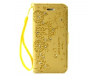 Husa piele Apple iPhone 7 Carriage Aurie