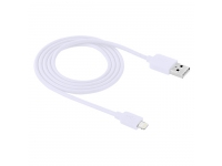 Cablu de date Apple iPhone 5 Haweel HWL-1060W High Speed 1m Alb Blister Original
