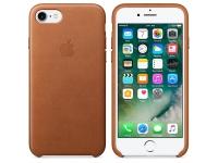 Husa Piele Apple iPhone 7 MMY22ZM Maro Blister Originala